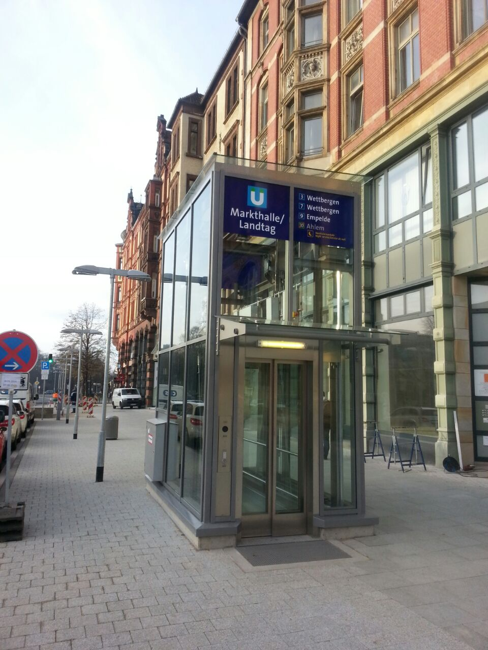 Aufzug in Hannover